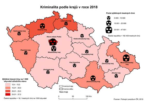 Kriminalita V Karlovarskem Kraji V Roce 2018 Csu V Karlovych Varech